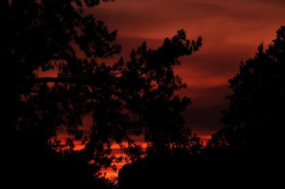 Smoky Sunset 1